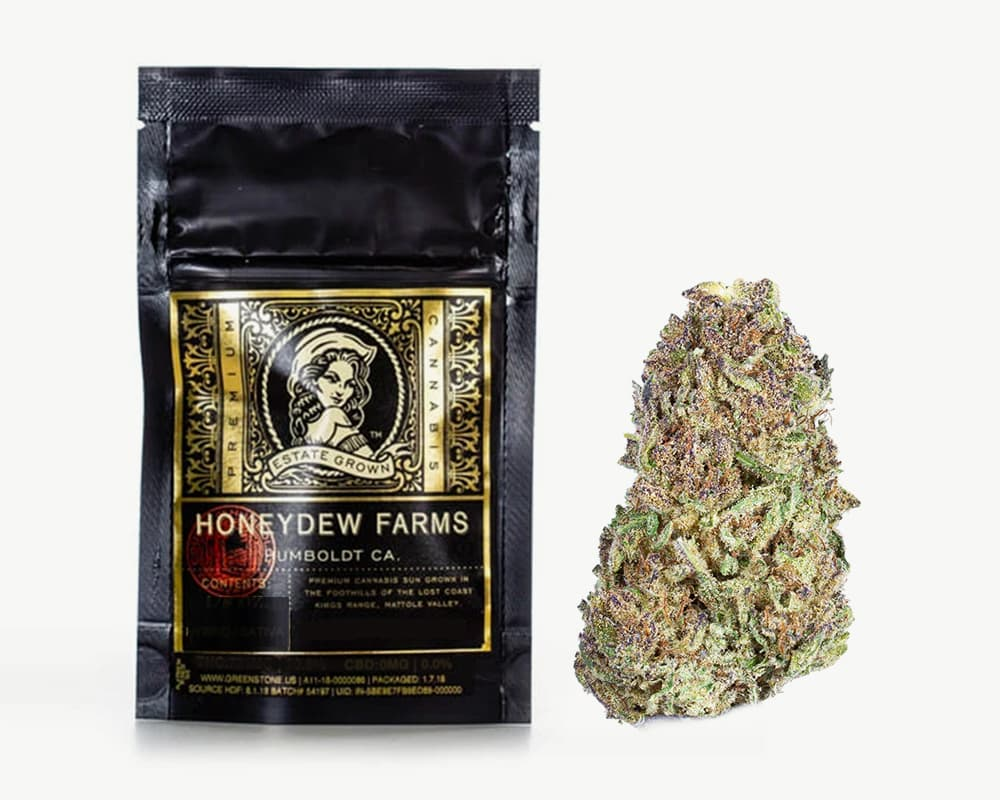 Trainwreck Sativa Strain by Honeydew Farms | Splitbud Deals