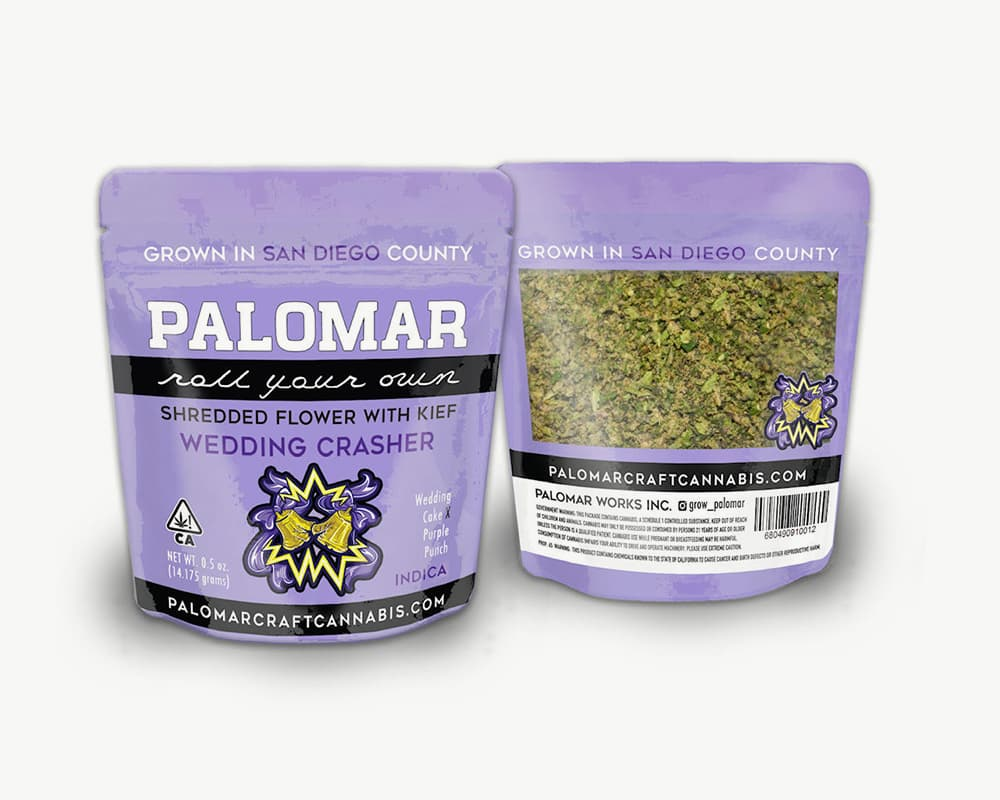 Wedding Crasher RYO Indica Strain by Palomar | Splitbud Deals